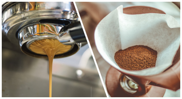 Métodos para preparar el café: Filtrado VS Espresso
